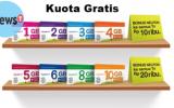 Cara Mendapatkan Kuota Tri Gratis Hingga 25GB Tanpa Pulsa