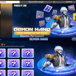 Dapatkan Bundle Griffin Permanen di Event Demon Hand Free Fire