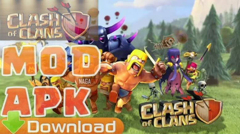 Download Clash Of Clans MOD APK (TH 13, Troops) 2020