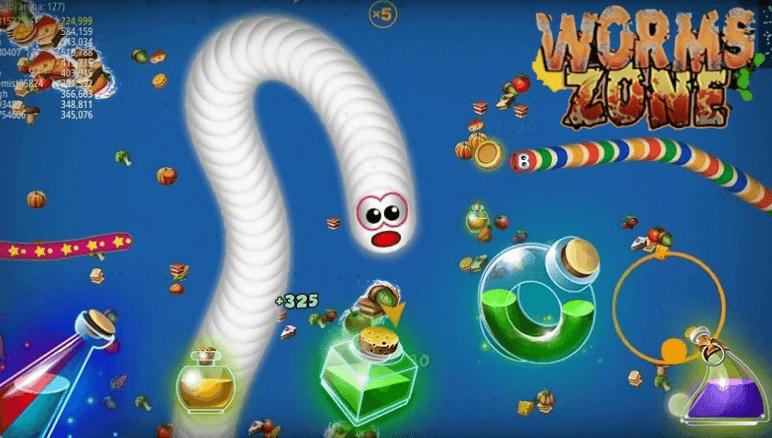 Worms Zone Mod Apk Versi Terbaru 2020 Full Coins, Kebal