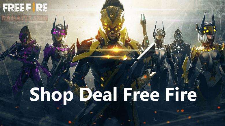 Shop Deal Free Fire, Menyediakan Diamond Harga Murah !