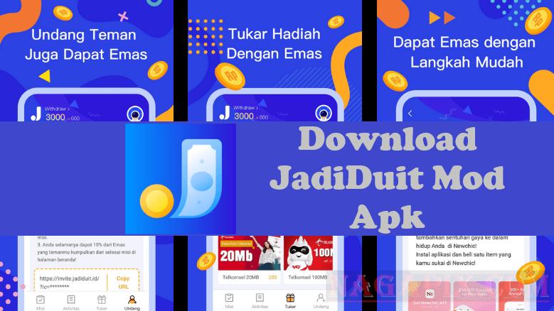 Download JadiDuit Mod Apk Penghasil Uang di Android