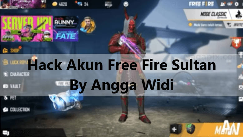 Hack Akun Free Fire Sultan Terbaru 2020 by Angga Widi !