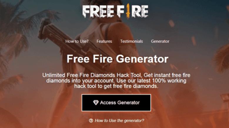 Freefire Generator.com Hack Diamond FF Terbaru 2020