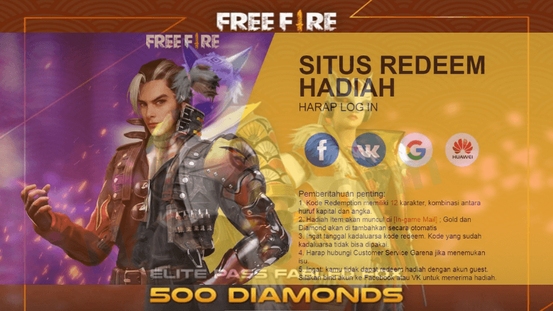 Kode Redeem FF Juni 2020 Update Elite Pass Season 25 !
