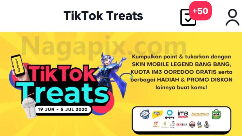 Event TikTok Treats ML Siapkan Skin Gratis Permanen !