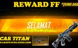 Reward FF Juni 2020 Scar Titan di Rewardffjuni.otzo.com