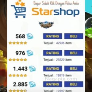 Star Shop Apk Mobile Legends Top Up Diamond Termurah !