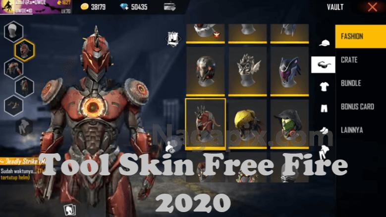 Tool Skin Free Fire New Update 2020 - Anti Banned