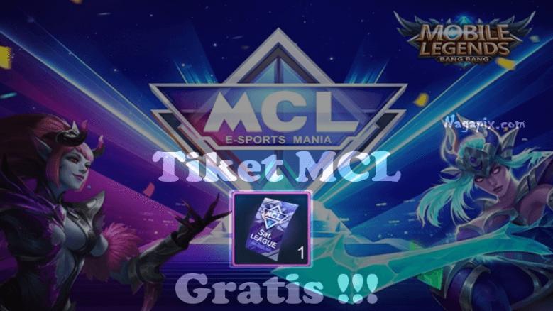 Cara Mendapatkan Tiket MCL Mobile Legends Gratis 2020!