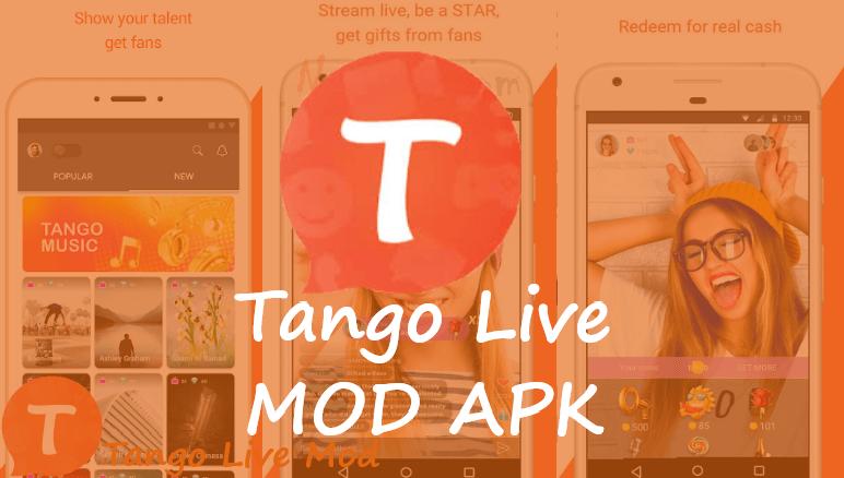 Tango Live Mod Apk 2020 - Free Coins & Unlock All Room