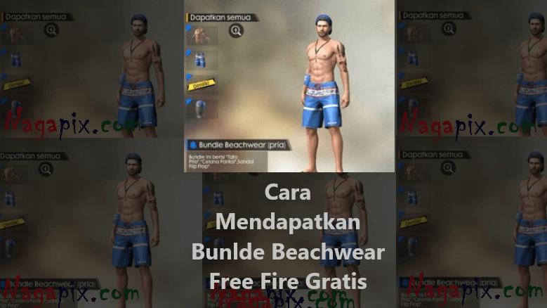 Cara Mendapatkan Bundle Beachwear FF (Pria) Terbaru