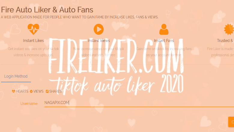 Fireliker com TikTok - Auto Like TikTok & Followers TikTok