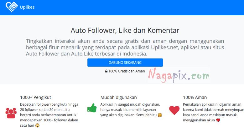Uplikes.net followers - Cara Menaikan Followers Instagram