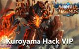 Kuroyama Hack VIP Mobile Legends Terbaru 2020 ! Ampuh