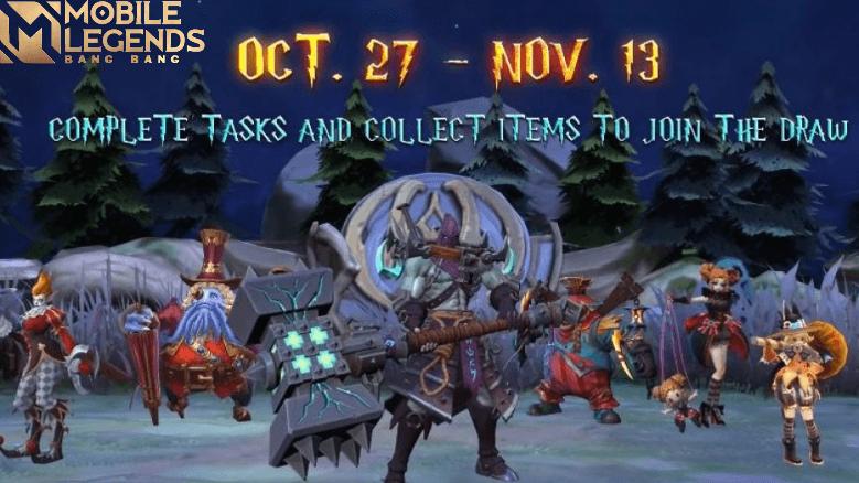 Event Halloween ML 2020 Akan Segera Hadir di Bulan Ini !