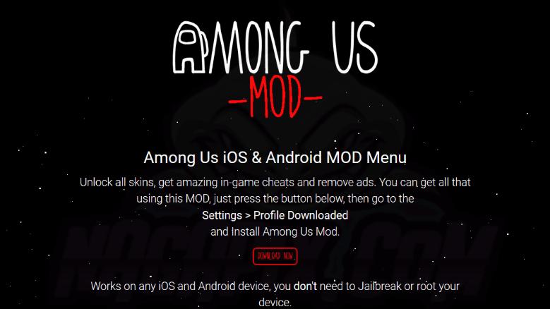 Tikamongus com - Download Among Us Mod Menu Apk