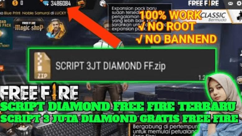 Download Script Diamond FF Terbaru 2020